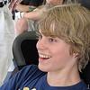 Myatt Snider runs a test race