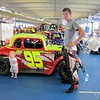 Jake Morris and the worlds smallest crew chief
