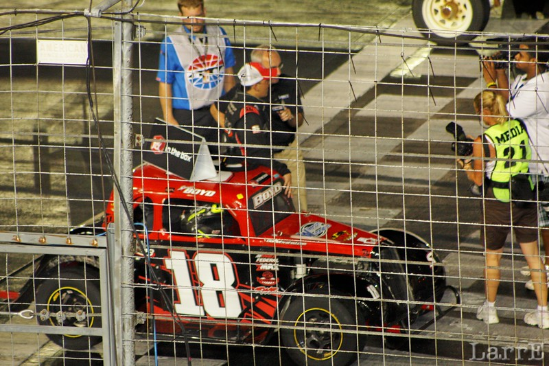 Spencer Boyd wins the Semi-Pro race