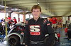 Daniel Hamrick drives in semi-pro class