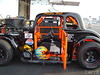 Austin Hill drives the #124 in semi-pro