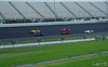 Close racing in the open wheel cars.