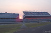 Sunset at the speedway