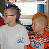 Big Chief Blue Hair and Little Chief Tiger Hair....Zach and Kodie Conner
