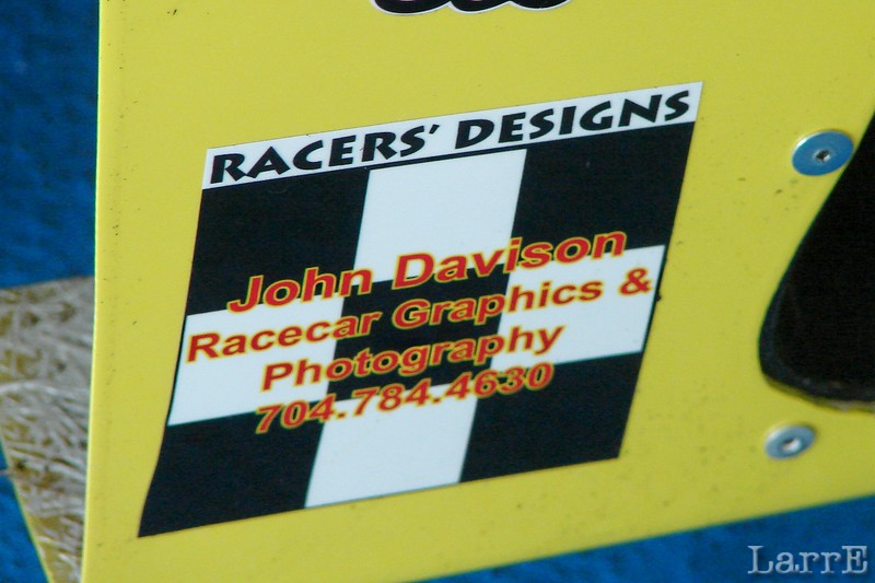 John Davison is well known in the racing community