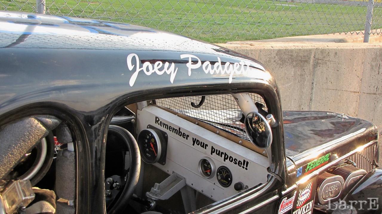 Joey Padgett, remember your purpose
