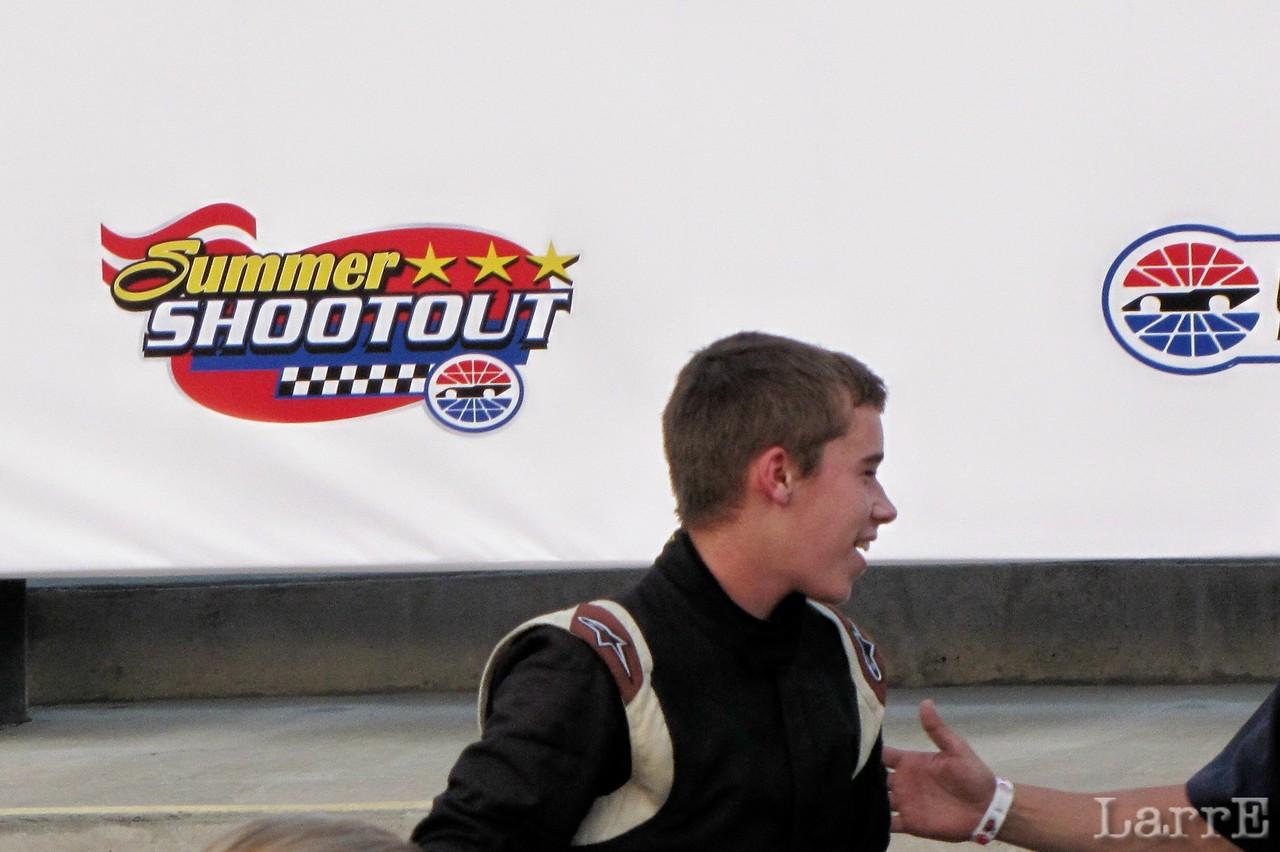 Ben Rhodes in victory lane