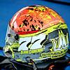 Blake Cisneros's helmet.