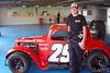 #29 Toni McCray races in Semi-pro division