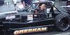 Jim Gresham drives the Thunder Roadster #43