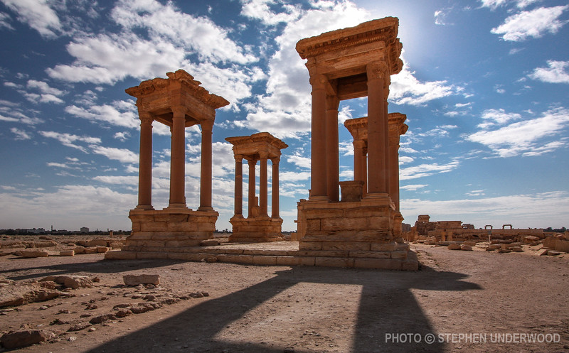 The Tetrapylon at Palmyra