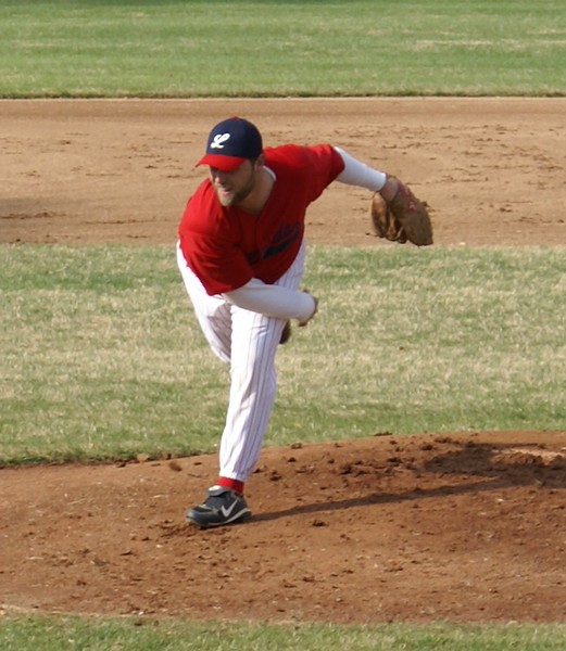 MVP Danny Whyte fires in the first inning!