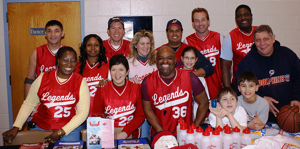 2008 MLK Charity Game and Youth Clinic