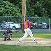 Legions Eddie Cuddahy swings and hits a grand slam home run