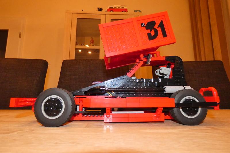 De mooie lego Stockcar F2 van Laura Vervuurt H31.
