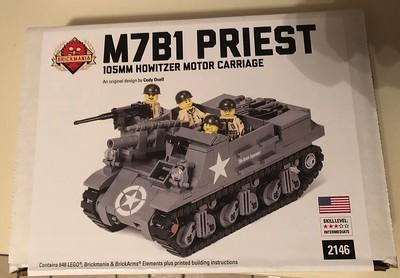 M7 Priest (Brickmania)