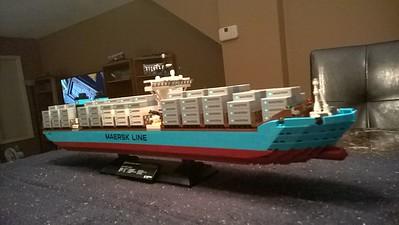 Meresk Container Ship (September 2014)