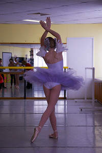 SWAN LAKE –  POINTE - Legs Dance Studio 2013 concert rehearsals