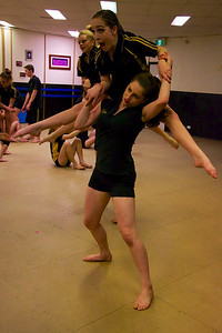 MACHINERY – LEVEL 2/3 ACRO - Legs Dance Studio 2013 concert rehearsals