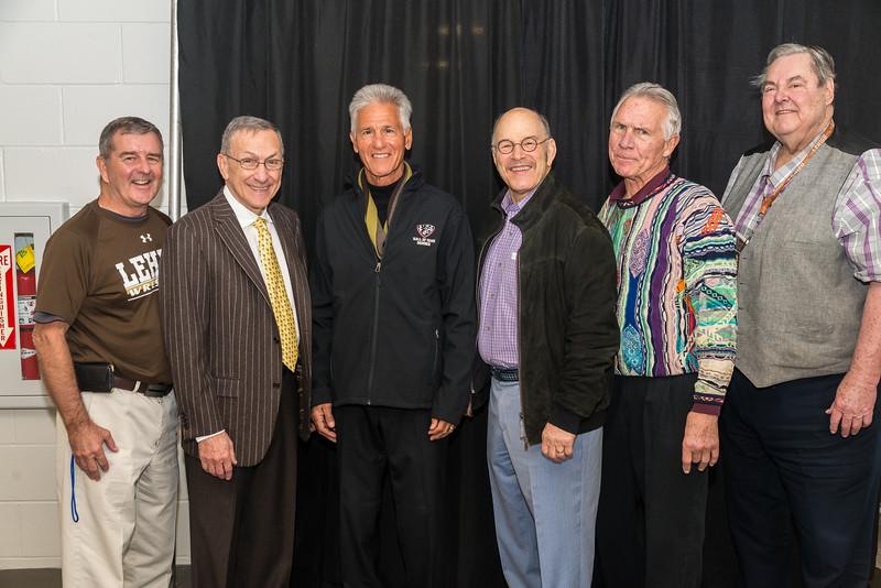 1965 NCAA 3rd place team, Rich Warnke, Mike Caruso, Joe Peritore, Billy Stuart, Joey Caprio, John Illenwarth