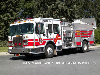 EMMAUS FIRE DEPT. ENGINE 711 1998 SPARTAN/CENTRAL STATES PUMPER