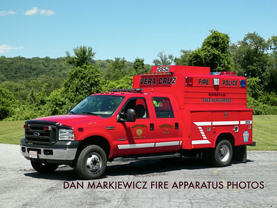 CITIZENS FIRE CO. VERA CRUZ UNIT 2852 2006 FORD/READING TRAFFIC UNIT