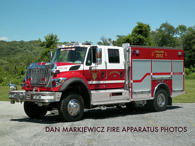 CITIZENS FIRE CO VERA CRUZ ENGINE 2812 2014 INTERNATIONAL/KME URBAN INTERFACE PUMPER