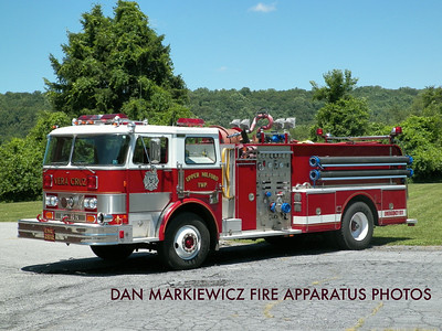 CITIZENS FIRE CO. VERA CRUZ FORMER ENGINE 2812 1983 HAHN PUMPER