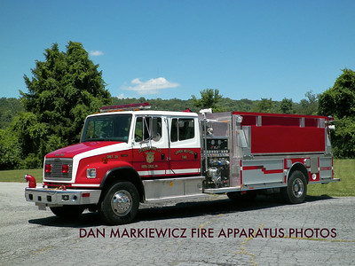 CITIZENS FIRE CO. VERA CRUZ TANKER 2821 2001 FREIGHTLINER/CENTRAL STATES TANKER