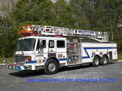 DIAMOND FIRE CO. LADDER 2931 2002 AMERICAN LA FRANCE/LTI AERIAL LADDER QUINT