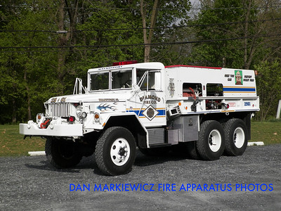 DIAMOND FIRE CO. BRUSH 2961 1970 AM GENERAL/DFC BRUSH TRUCK