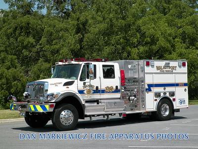 DIAMOND FIRE CO. ENGINE 2911 2010 INTERNATIONAL/KME PUMPER