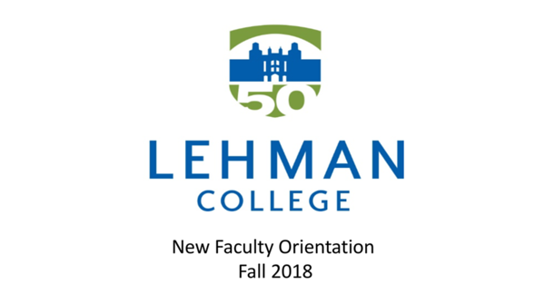 LS 119-2018 New Faculty Orientation