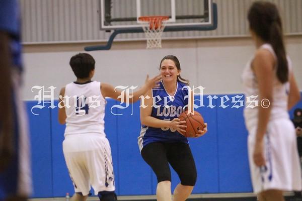 Lehman staff vs students basketball game