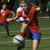 Hays and Lehman girls soccer play at Lobo Field