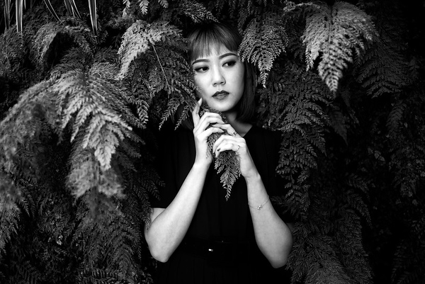 Portrait of Annie Hsiao. SF MOMA. #LeicaSL2