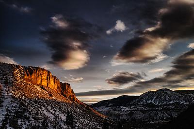 Mesa at Sunset
