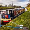 Canal boat, Barnby Dun