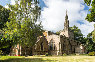 St Deny's Church in Evington, Leicester
