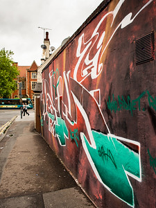 Leicester graffiti