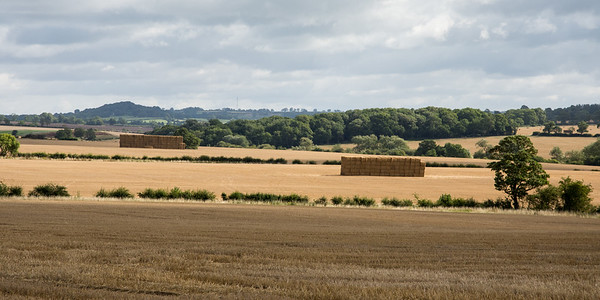Leicestershire hay harvest