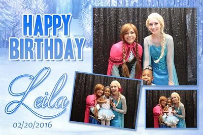 Leila's 3rd Birthday