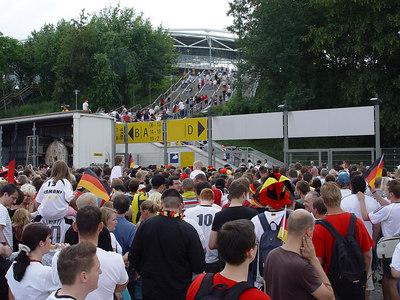 2006-06-30_10335 Quarter final Germany : Argentina in the Zentralstadion in Leipzig Viertelfinale Deutschland : Argentinien im Zentralstadion in Leipzig Cuartos de final Alemania : Argentina en el Zentralstadion (estadio) en Leipzig