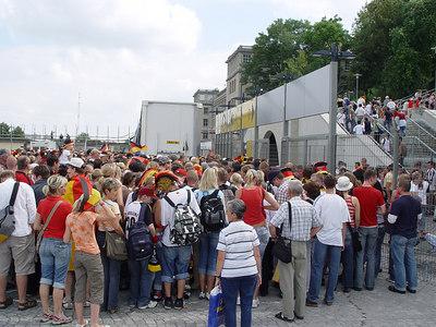2006-06-30_10333 Quarter final Germany : Argentina in the Zentralstadion in Leipzig Viertelfinale Deutschland : Argentinien im Zentralstadion in Leipzig Cuartos de final Alemania : Argentina en el Zentralstadion (estadio) en Leipzig