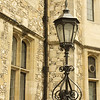 One of Winchester's street lamps