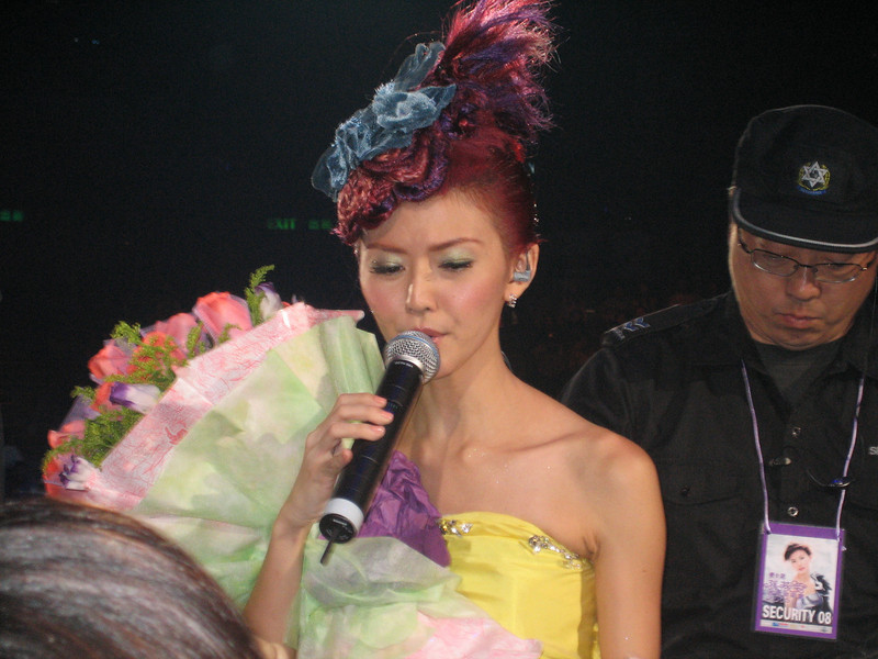 IMG_0243 <br /> Photo of Stefanie Sun in Concert 2005