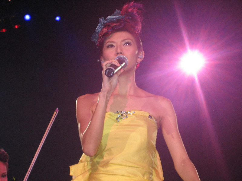 IMG_0237 <br /> Photo of Stefanie Sun in Concert 2005