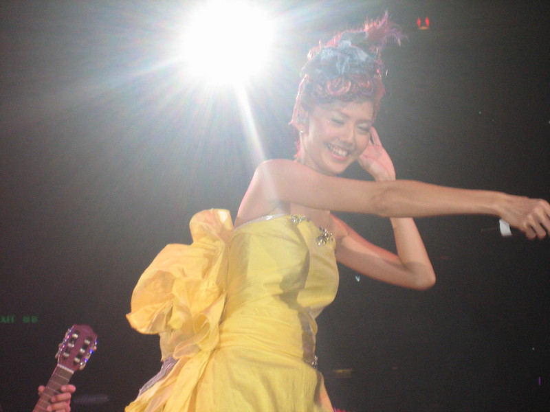 IMG_0236 <br /> Photo of Stefanie Sun in Concert 2005<br /> <br /> 我幾鐘意呢張相架,幾靚!