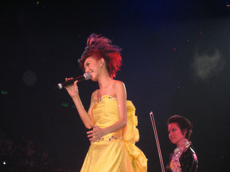 IMG_0239 <br /> Photo of Stefanie Sun in Concert 2005