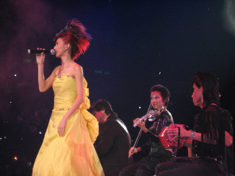 IMG_0240 <br /> Photo of Stefanie Sun in Concert 2005